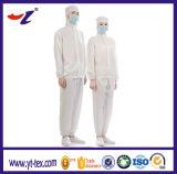 Rhomb a tricoté le vêtement antistatique protecteur de DÉCHARGE ÉLECTROSTATIQUE de couche de tissu