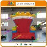2,5 m/sofa gonflable géant 8.3FT/publicité roi Trône Président/présidente gonflable commerciale