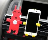 Three-Side Grips와 Adjustable Function를 가진 만화 Design Car Phone Holder