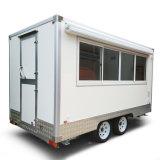 Mobiler Lebesmittelanschaffung-Schnellimbiss-Wohnwagen für Verkauf