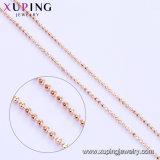 43336 Xuping 형식 로즈 금 색깔 목걸이