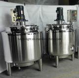Depósito de fermentación del yogur del acero inoxidable de la categoría alimenticia