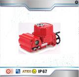 Eléctrica de 2 vías válvula de bola de latón DN20 con actuador eléctrico