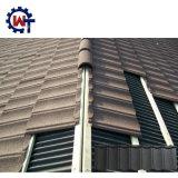 Против коррозии камня кровельного материала с покрытием металлического листа крыши