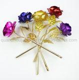 Haute qualité OEM Golden Rose Fleur pour cadeau de Saint-Valentin