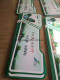 La publicité de la feuille acrylique de mousse de PVC de panneau de mur de devise