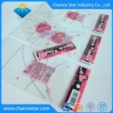 Kundenspezifische selbstklebende Beutel des Drucken-OPP mit Vorsatz