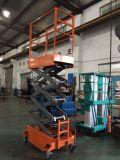 Plataforma de trabajo de la antena Mini elevador de tijera (Altura máxima de 3m)