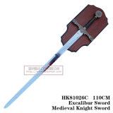 Spade europee del re Arthur Swords Medieval Swords 110cm