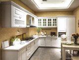 Ultimo armadietto di legno di stile di paese di Morden dell'armadio da cucina