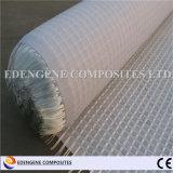 Asfalto reforzado fibra Geogrid de la fibra de vidrio/del basalto para el curso del pavimento antifisuras