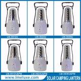 Portátil de 24 LED de carga solar soporte de la luz de emergencia