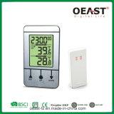 Pulso de disparo da estação de tempo com indicador Ot5562TF1 da temperatura e do tempo