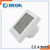 Termostato di programmazione del regolatore di temperatura del condizionamento d'aria dell'orologio del termostato della bobina del ventilatore