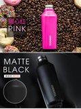 16 24oz 350ml ont personnalisé la bouteille d'eau Hip de kola isolée par mur de flacon de vide de thermos de tasse de sports de course de café d'acier inoxydable de double d'aigle de bosse de Corkcicle de logo