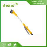 庭水吹き付け器多機能水花5パターン水まきの細い棒