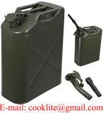 5 Gal 20L Джерри консервирует мазут газолина может бак хранения газа стальной