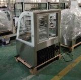 구부려진 생과자 냉장고 또는 케이크 진열장 또는 빵집 전시 내각 (RL750A-S2)