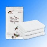 Satz kundenspezifisches Hotel-Gaststätte-nasses Tuch aussondern