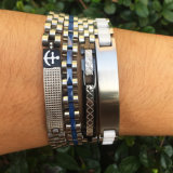 Mens фиксируя браслет ювелирных изделий нержавеющей стали, браслеты Msbb004 Mens