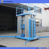 Precio de fábrica eléctrica de alta calidad de la plataforma de elevación telescópica de aleación de aluminio