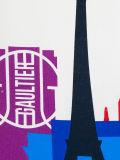 주문 소녀의 도시 그림에 의하여 인쇄되는 t-셔츠