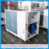 공기에 의하여 냉각되는 산업 냉각장치 및 열 펌프