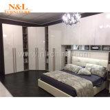 Mobilia di legno moderna di memoria della camera da letto del guardaroba di N&L