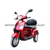 500With800W triciclo Disabled elettrico, un motorino elettrico delle 3 rotelle per l'azionamento sicuro