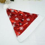 Sombrero promocional de Papá Noel de la Navidad