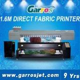 Garros Ajet-1604p 1.6m 4개의 인쇄 헤드 안료 직물 직접 인쇄 기계