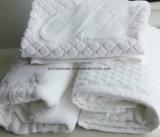 Vlakte van het hotel verfte 80X50cm, 400g de Handdoek van de Vloer van Jacaquard/Badmat