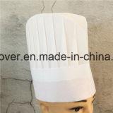 No tejido de sombrero de chef Chef de alta calidad de productos desechables Hat