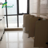 Partition compacte de salle de toilette de HPL avec l'écran d'urinal