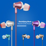 Fashion Metal in-Ear Earphone with Various Colors