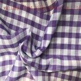 Tela teñida hilado de la verificación del algodón de seda, tela teñida hilado de la verificación del algodón de seda