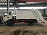 Тяжелых 4X2 Dongfeng 8 тонн мусора погрузчика погрузчик Dustcart пресса сжатия