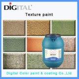 L'Imitation de pierre naturelle d'effet de texture de pierre de mur extérieur de la peinture murale