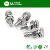 Boulon Hex de l'acier inoxydable SS304 SS316 SS316 (DIN933)