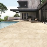 Stanza da bagno di ceramica del materiale da costruzione che pavimenta le mattonelle beige della porcellana (OLG602)