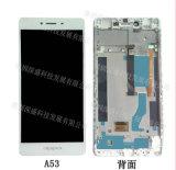 Affichage à cristaux liquides en gros d'écran tactile de téléphone mobile pour l'Assemblée (blanche) de convertisseur analogique/numérique d'écran tactile d'étalage d'Oppo A53