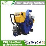 Rad-bewegliche Granaliengebläse-Maschine mit Staub-Sammler von Hand eindrücken