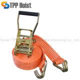 Alto Límite Elástico 2t 10m Precio de la correa de amarre de trinquete de carga
