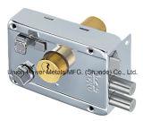 Aro de segurança de porta com fechadura cilindro duplo e Teclas Normal