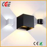 Più nuovo indicatore luminoso 2017 della parete di K-Figura 8W LED con le lampade dell'interno del certificato del Ce