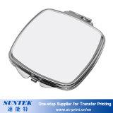 Sublimación personalizada Espejo Compacto blanco