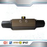 Manuelles Preis-Drosselventil mit pneumatischem Stellzylinder