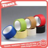 Todas las clases de cinta, cinta adhesiva de papel coloreada de la manera