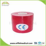 Adhesivo médico fuerte elasticidad Kinesiología cinta para la piel