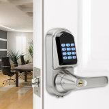 Cerradura electrónica Bluetooth Bluetooth teclado de la cerradura de puerta inteligente con control remoto de App.